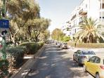Lovely Ben-Gurion ave and Wisel str to the right