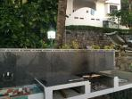 Custom Grill & Prep Area Next To Pool & Steps From The Beach