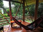 The hammock on the lanai is always a favorite