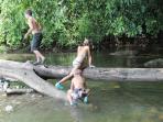 river mouth jungle gym