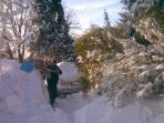 winter in surrounding