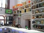 The Hacienda boasts a well stocked main bar & excellent restaurant.