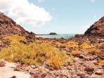 las aguas cristalinas de Fuerteventura