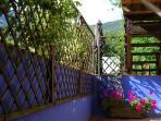 Adjacent terrace to master bedroom
