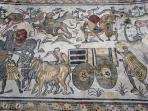 i mosaici: la grande caccia