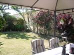 Patio and garden with barbeque facilties