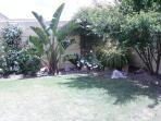 Garden view from bedroom