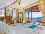 Master Bedroom with Balcony & Sea Views