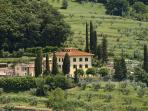 Beautiful Historic Villa Parri in Tuscany Countryside