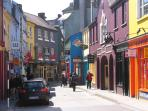 Kinsale has weaving colourful streets to roam about
