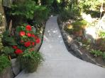 walkway as your leaving Primrose outside space