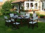 #Le Boucharel - #Breakfast/petit dejeuner in the garden