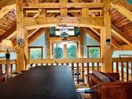 Loft with Foosball Table