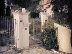 Maison Rose entrance gate