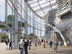 sneak peak of Frank Gehry - Luma Foundation project in Arles