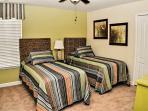 single2:  2x singles bed,  2nd floor
