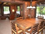 Historical Cabin Dining Room