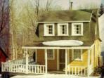 The cottage from about 80 years ago.  Just the living room, galley kitchen, and one bedroom upstairs