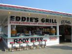 Eddie's Grill a must!!! Best hot dogs and root beer