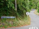 Private country road off highway 101 takes you to the Clam Beach Home!