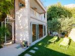 Garden with veranda