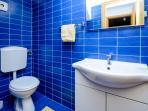 Toilette on ground floor