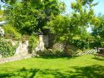 Le jardin, idéal pour se détendre