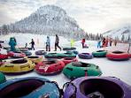 Huge Tubing fun at Hoodoo's Autobahn