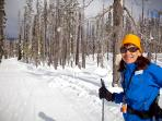 Snow Shoe and Cross Country Ski at many of our beautiful snow parks!