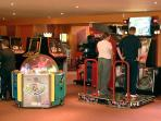Onsite arcades to occupy the time. Save those 2 pence pieces ready for hours of fun.