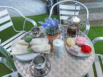 Enjoy Afternoon Tea in the Courtyard