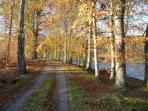 There are great walks beside the River Dee, just 5 minutes from The Stables.