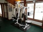 Gym at sports center