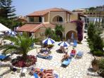 Solaris self-catering apartments and studios in Kassiopi ,Corfu