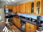 Renovated Kitchen with granite and stainless