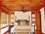 Bedroom suite with jungle view