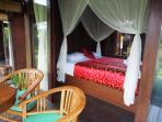 All villas open to balcony