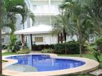 Condo overlooking the garden and pool