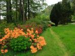 The Estate's gardens in spring.