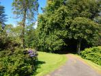 The Estate has paved roads suitable for wheelchairs, pushchairs and young bike riders.