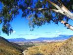 Wonderful panoramic views from Rancho Rustico.