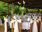 Ceremony in Dining area