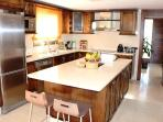 High Spec kitchen includes dishwasher, large oven/hob and water purification tap