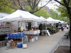 Farmers Market - 3 blocks from the house