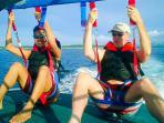 Parasailing in Boracay