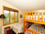 Bedroom 3 twin+ bunk- river/mountain views