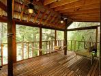 Riverhouse riverside riverporch w/ hammock