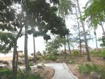 Beachfront 1 bedroom APT,Haad Khom,Chaloklum Ville