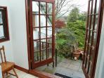 Patio doors onto rear garden