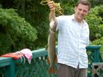 Clyffe House: A big pike!